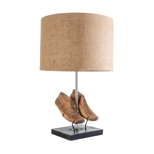 Lampa stołowa ze szczegółami z drewna mangowca VICAL HOME Indra