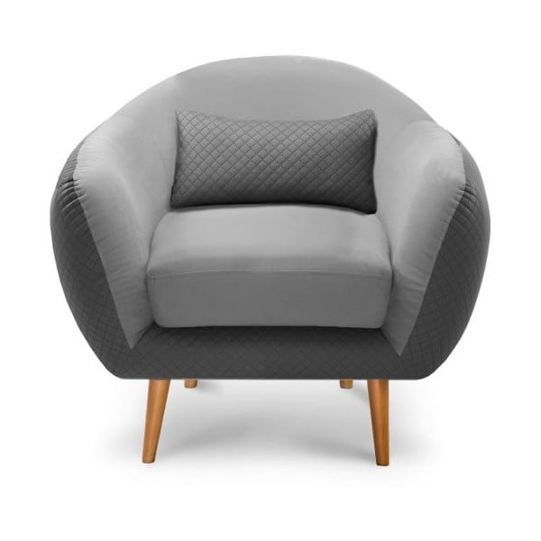 Fotel Meteore Grey/Light Grey