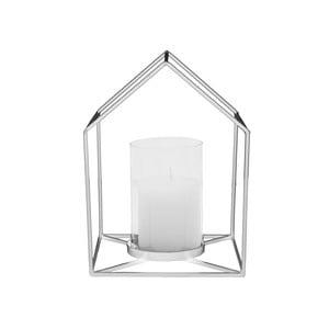 Srebrny świecznik Present Time House