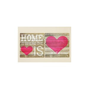 Zestaw 2 napisów Home Is