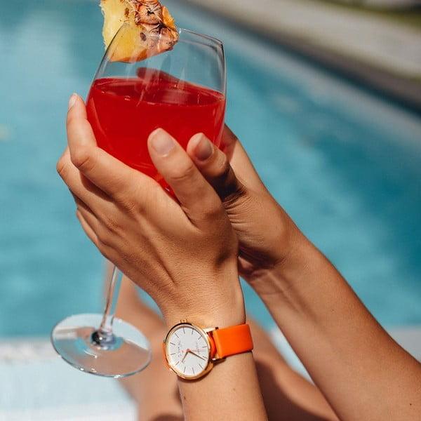 Zegarek VeryMojo Make Today, pomarańczowy