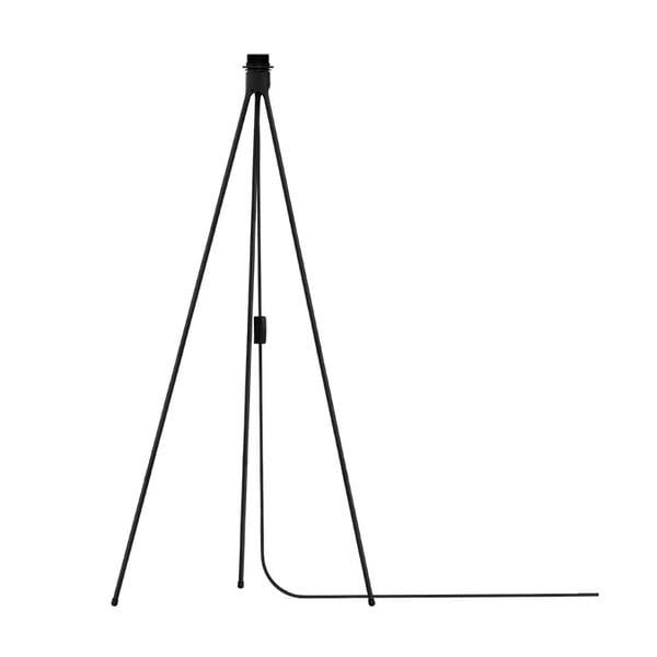 Czarny trójnożny stojak na lampę VITA Copenhagen, wys.109cm