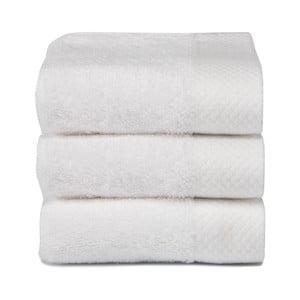 Komplet   3 ręczników Pure White, 30x50 cm