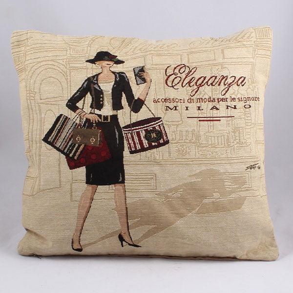 Poszewka na poduszkę Elegance, 45x45 cm
