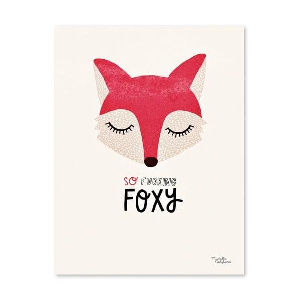 Plakat Michelle Carlslund Foxy, A4