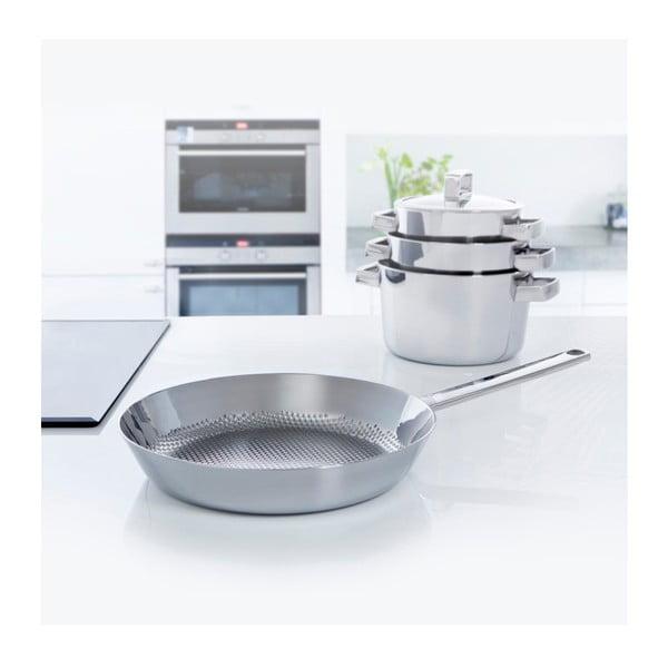 Patelnia ze stali nierdzewnej BK Cookware Conical Deluxe Frying, 28cm