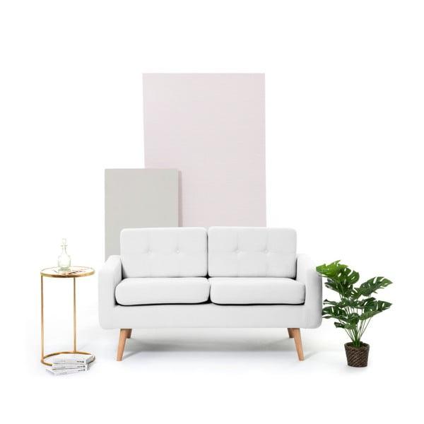 Jasnoszara sofa 2-osobowa Vivonita Ina