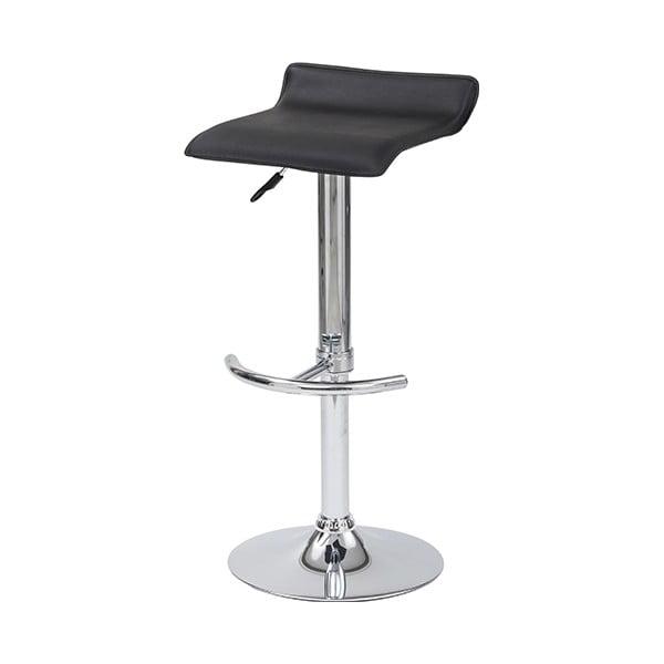 Krzesło barowe Skin, czarne
