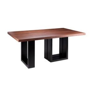 Stół w dekorze drewna orzechowego sømcasa Telma, 180 x 100 cm