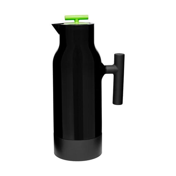 Czarny dzbanek termiczny Accent