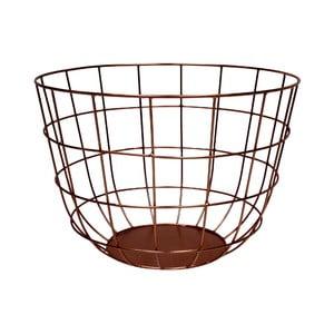 Metalowy koszyk Netz Copper, 20 cm