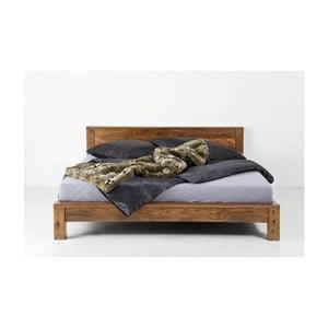 Łóżko dwuosobowe z palisandru Massive Home Patna, 180x200 cm