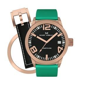 Zegarek damski Marc Coblen z dodatkowym paskiem i obręczą P98
