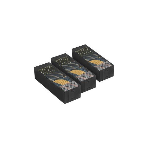 Zestaw 3 pudełek Dividers, 30x10 cm