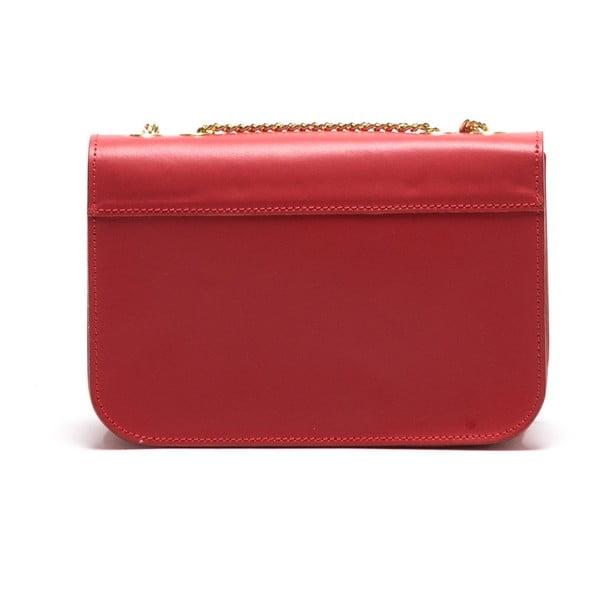 Skórzana torebka Anna Luchini 3044 Rosso