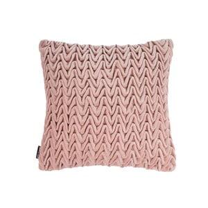 Różowa poduszka ZicZac Waves, 45x45 cm