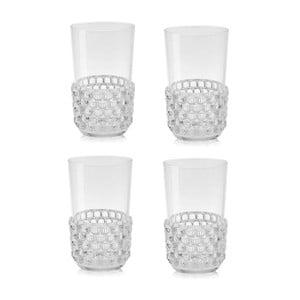 Zestaw 4 przezroczystych szklanek Kartell Jellies, 500ml