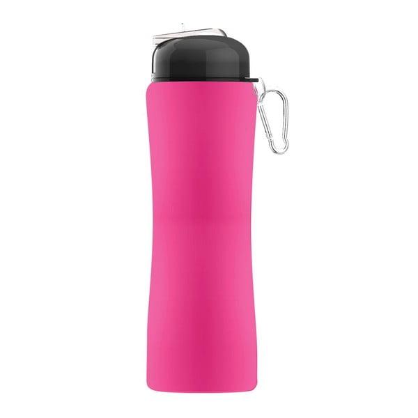 Rewolucyjna butelka Sili-Squeeze, różowa, 650 ml