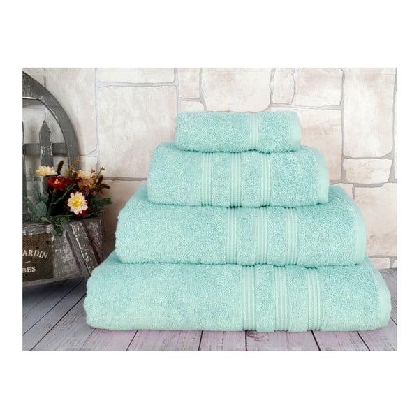Miętowy ręcznik Irya Home Classic, 70x130 cm