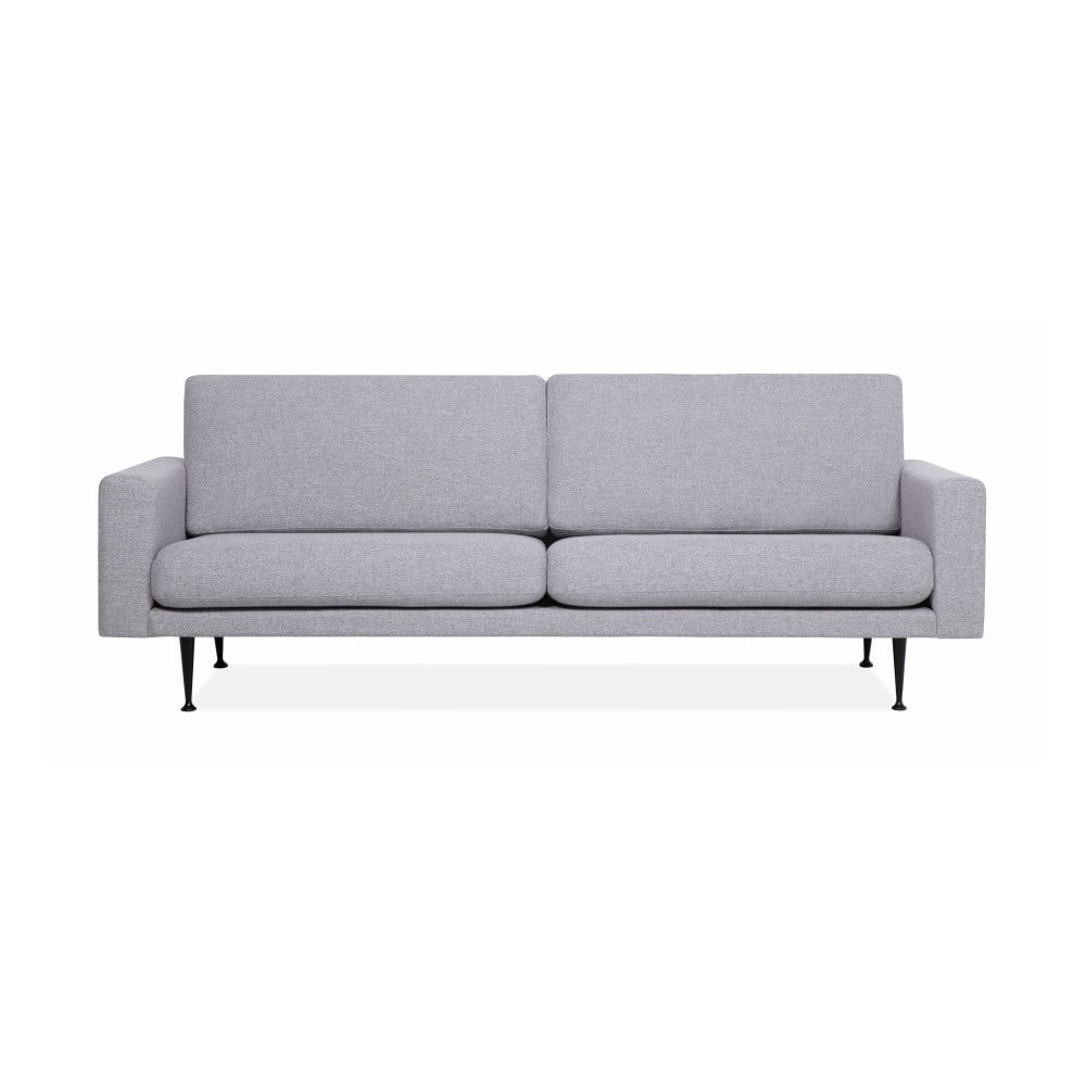 Szara sofa 3-osobowa Softnord Fox