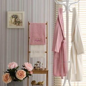 Komplet męskiego i damskiego szlafroka i 3 ręczników Natalia