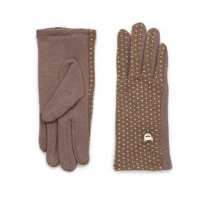 Beżowe rękawiczki Drops