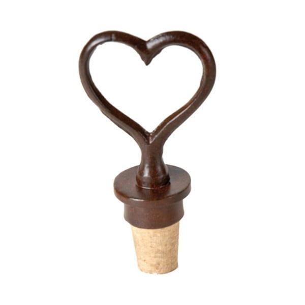 Zatyczka do butelki wina w kształcie serca Antic Line Heart