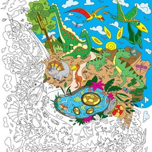 Kolorowanka Creative Gifts Dinoland