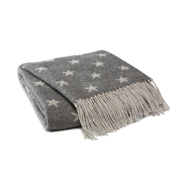 Pled Himmelen Grey, 125x170 cm