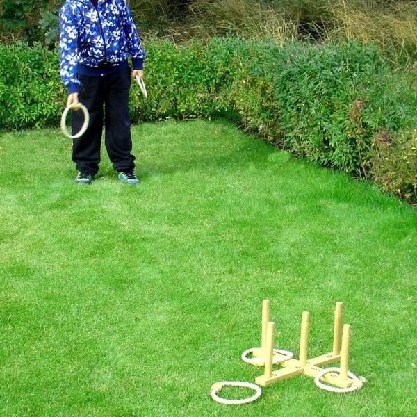 Gra ogrodowa dla całej rodziny Ring Toss