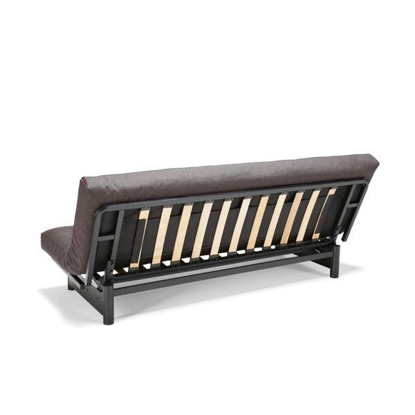Szarobrązowa sofa rozkładana Innovation Fuji
