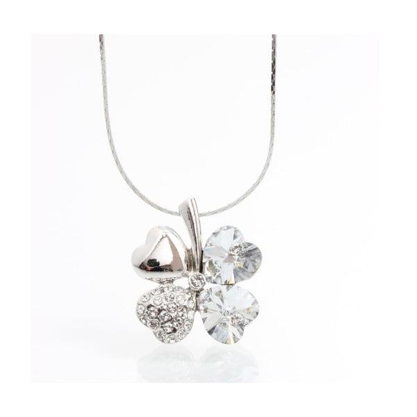 Naszyjnik z kryształami Swarovski Elements Laura Bruni Bloom