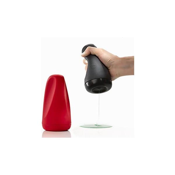 Silikonowy dozownik do mydła, czerwony