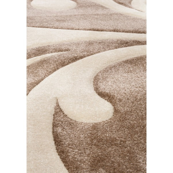 Brązowy dywan Tomasucci Damasko, 140x190 cm