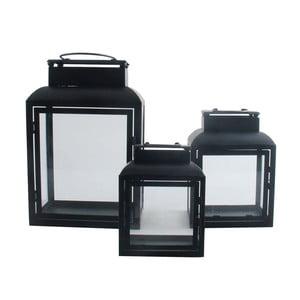 Zestaw 3 lampionów Black Light