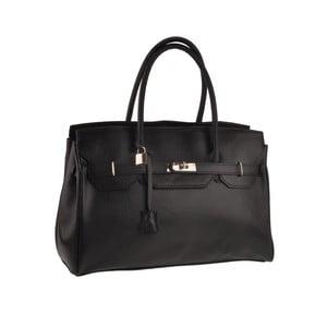 Czarna torebka skórzana Gallina