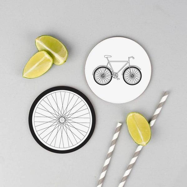 Zestaw 4 podstawek Karin Åkesson Design Bicycle