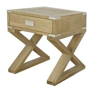 Stolik z drewna dębowego Artelore Anne
