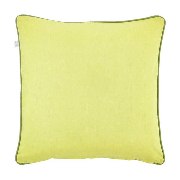 Poduszka Lily 45x45 cm, limetkowa