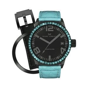 Zegarek damski Marc Coblen z dodatkowym paskiem i obręczą P43