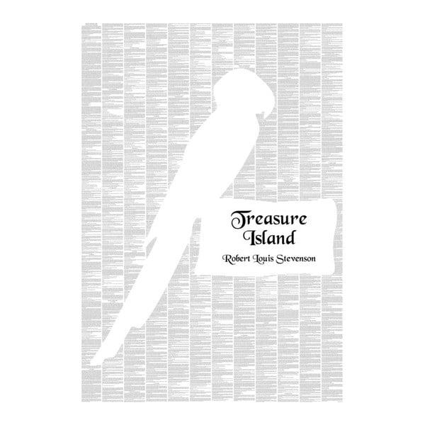 """Plakat """"Wyspa skarbów"""", 70x100 cm"""
