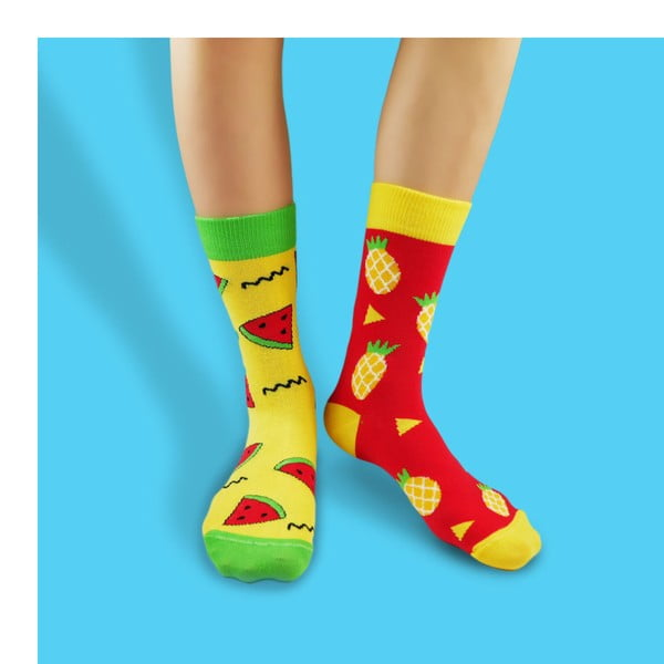 Skarpetki bawełniane Hesty Socks Tropical, rozm. 39-42