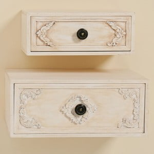 Zestaw 2 naściennych szuflad Cherry Cabinet
