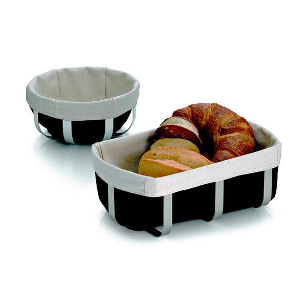 Metalowy koszyk na chleb Moreno, 18x8.5 cm