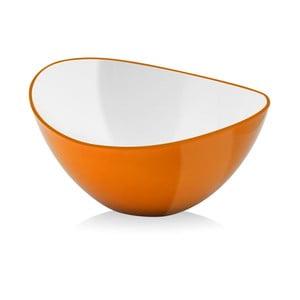 Pomarańczowa miseczka Vialli Design, 25cm