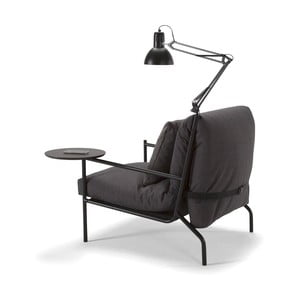 Zestaw lampy i stolika do fotela Innovation Noir i sofy Neat