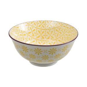 Porcelanowa miska Tayo Yellow, 15,5x7 cm
