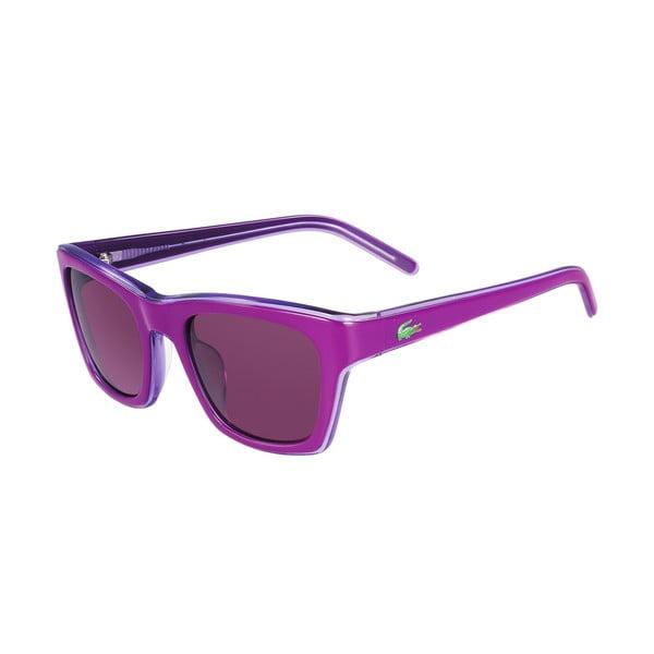 Damskie okulary przeciwsłoneczne Lacoste L645 Violet