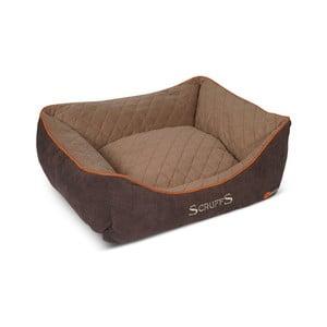 Legowisko dla psa Thermal Bed 50x40 cm, brązowe