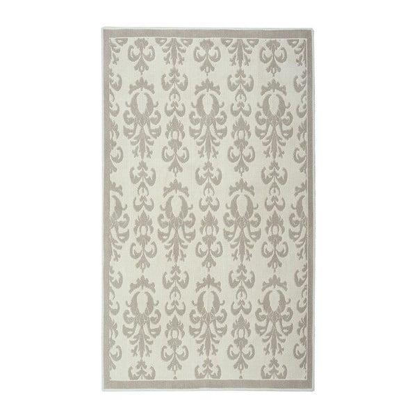 Dywan bawełniany Baroco 80x300 cm, kremowy
